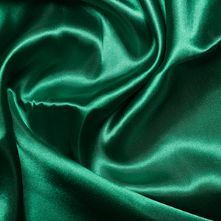 Emerald Green Satin High Sheen Fabric 0.5m